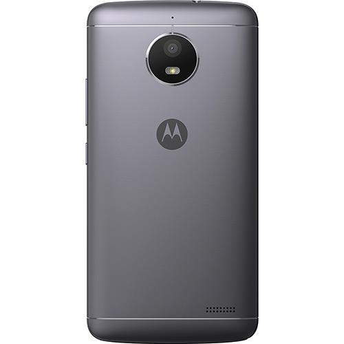 "Smartphone Motorola Moto E4 Dual CHIP Android 7.1.1 Nougat Tela 5"" QUAD-CORE 1.3GHZ 16GB 4G Câmera 8MP - Titanium  - skalla magazine"