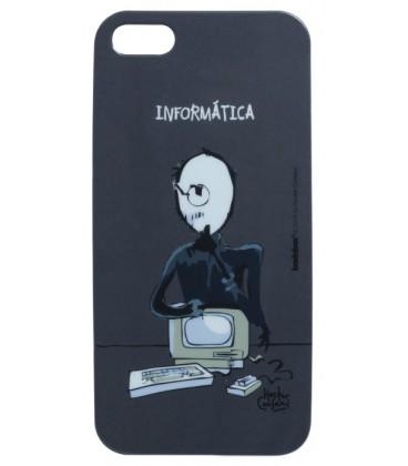 Capa protetora de acrílico  Iphone 5s  Informatica  - skalla magazine