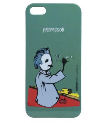 Capa protetora de acrílico  Iphone 5s  Professor  - skalla magazine