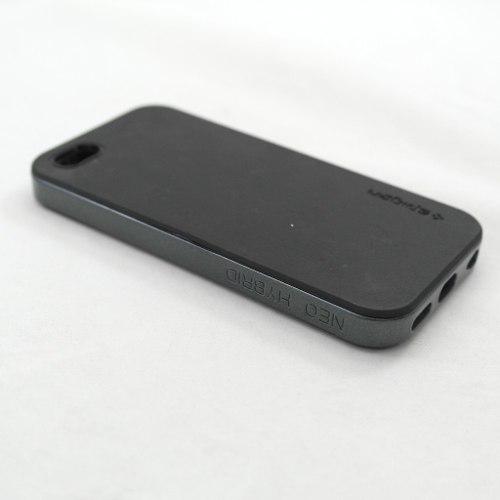 Capa Iphone 5s emborrachada Preta  - skalla magazine