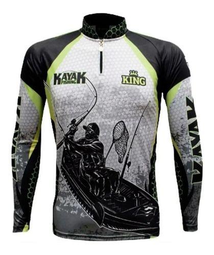 Camisa De Pesca Com Proteção Solar Kayak  - skalla magazine