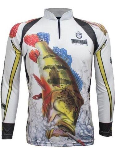 Camisa, De Pesca Co Proteção Solar Uv Kff 302