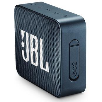 Caixa De Som Jbl Go2 Bluetooth A Prova D'agua 3w Navy