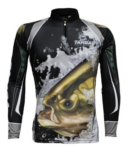 Camisa De Pesca Com Proteção Solar Uv 50+ Kff 304 Tambaki