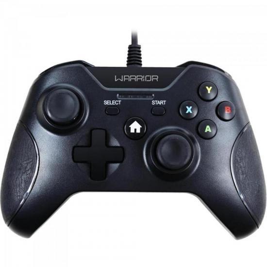 Controle Warrior Gamer P/ XBOX ONE e PC JS078 Preto Multilaser  - skalla magazine