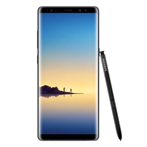 """Smartphone Samsung Galaxy Note 8 Preto 64GB, Tela 6.3"""" Android 7.1, Dual CHIP, Caneta S PEN, Dual Câmera Traseira, Processador OCTA Core e 6GB RAM  - skalla magazine"""