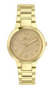 Relógio Allora Feminino Encanto da Sereia AL2035FAN/4D - DouradoAL2035FAN/4D  - skalla magazine