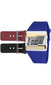 Relógio Digital Mormaii Acquarela FZV/8R - Troca Pulseiras  - skalla magazine