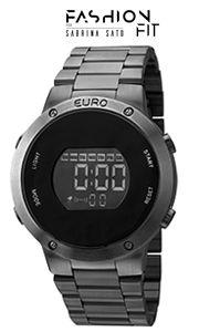 Relógio Euro Metal TRENDY EUBJ3279AB/4P Digital  - skalla magazine