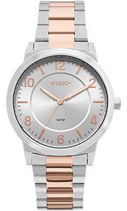 Relógio Feminino Euro Eu2036ylw/5k Prata/Rose  - skalla magazine