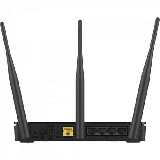 Roteador Wireless 750MBPS Dual BAND DIR-819 Preto DLINK  - skalla magazine