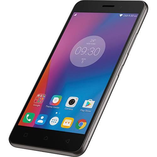 "Smartphone Lenovo Vibe K6 Dual Chip Android Tela 5"" 32GB 4G Câmera 13MP - Grafite  - skalla magazine"