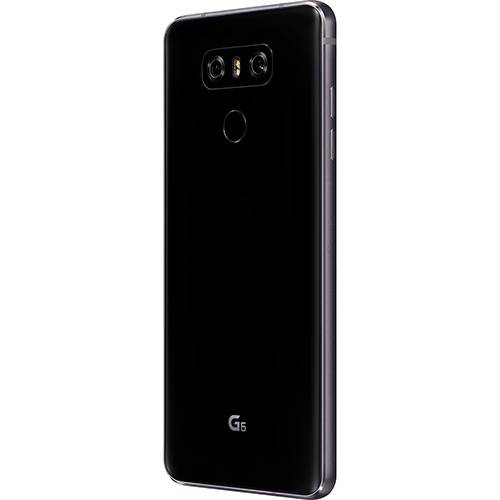 "Smartphone LG G6 ASTRO Single CHIP Android 7.0 Tela 5.7"" QUAD-CORE 2.35GHZ KRYO 64GB 4G Câmera 13MP - Preto  - skalla magazine"