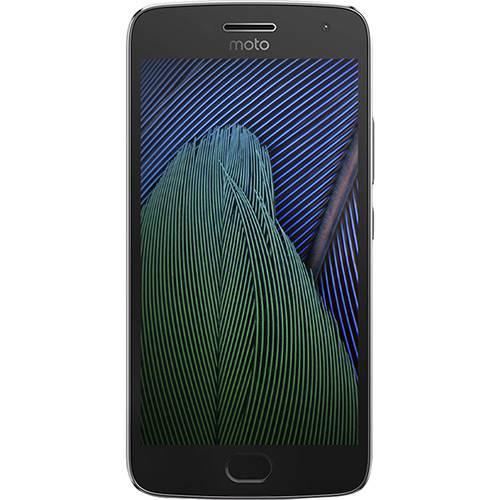 "Smartphone Moto G5 PLUS Dual CHIP Android 7.0 Tela 5.2"" 32GB 4G Câmera 12MP - Platinum  - skalla magazine"