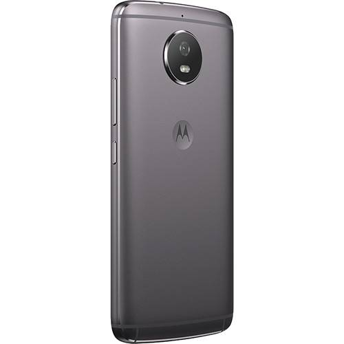 "Smartphone Motorola Moto G 5S Dual CHIP Android 7.1.1 Nougat Tela 5.2"" Snapdragon 430 32GB 4G Câmera 16MP - Platinum  - skalla magazine"