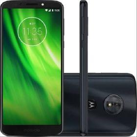 "Smartphone Motorola Moto G6 PLAY Dual CHIP  Tela 5.7"" OCTA-CORE  32GB 4G Câmera 13MP - índigo  - skalla magazine"