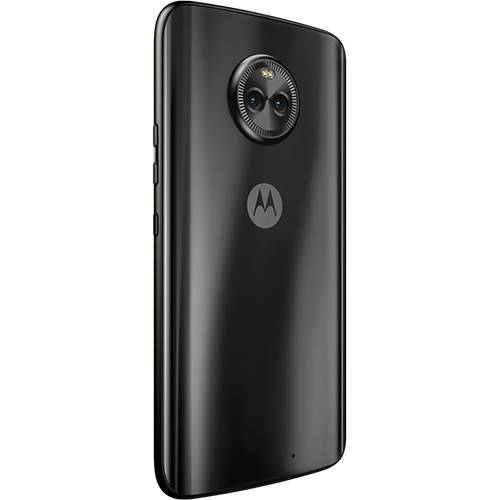 "Smartphone Motorola Moto X4 Dual CAM Android 7.0 Tela 5.2"" OCTA-CORE 32GB WI-FI 4G Câmera 12MP - Preto  - skalla magazine"