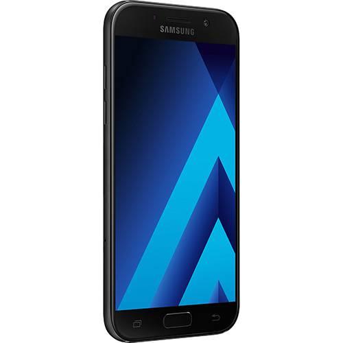 "Smartphone Samsung Galaxy A5 Dual Chip Android 6.0 Tela 5,2"" Octa-Core 1.9GHz 64GB 4G Câmera 16MP - Preto  - skalla magazine"