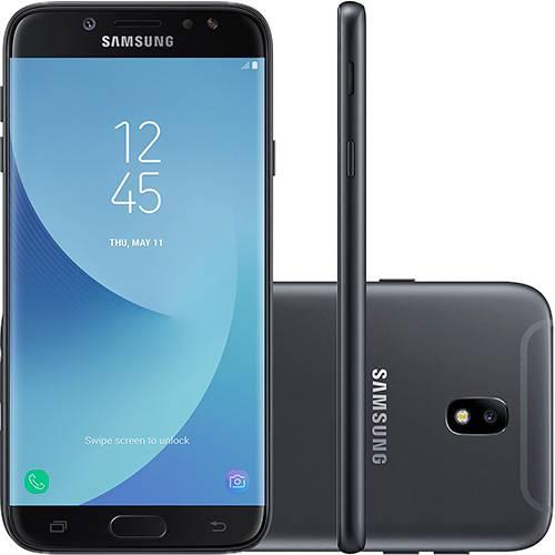 """Smartphone Samsung Galaxy J7 PRO Android 7.0 Tela 5.5"""" OCTA-CORE 64GB 4G WI-FI Câmera 13MP - Preto  - skalla magazine"""