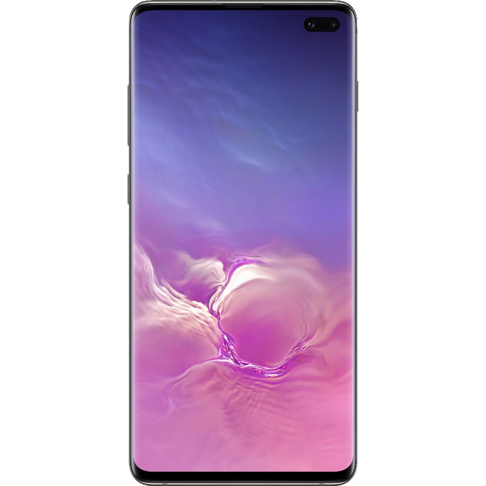 """Smartphone Samsung Galaxy S10+ 128GB Dual Chip Android 9.0 Tela 6.4"""" Octa-Core 4G Câmera Tripla Traseira 12MP + 12MP + 16MP - Preto  - skalla magazine"""