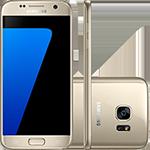 Smartphone Samsung Galaxy S7 32GB 4G Câmera 12MP - Dourado  - skalla magazine