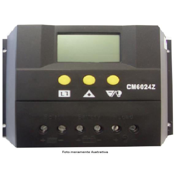 Controlador de Carga 60A 12v/24v  - Kasatec Energia Solar