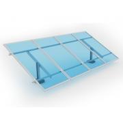 Kit de Fixação para Placa Solar - Para 4 Placas em Solo - Monoposte