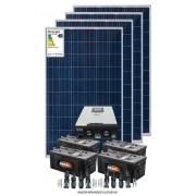 Kit solar 11KW/dia - Inversor Carregador VMIII 5KW 48V/220V - MPPT H