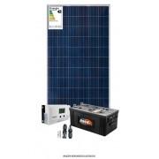 Kit solar 1400w/dia - Senoidal - MPPT