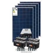 Kit solar 14.000w/dia - Inversor Carregador Senoidal 5000W 48V/220v - MPPT