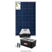 Kit solar 2400w/dia - Inversor Carregador Senoidal 2000W 24v/220v - PWM