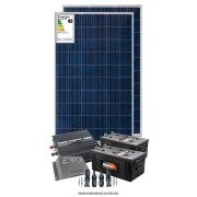 Kit solar 2400w/dia - Onda modificada - PWM