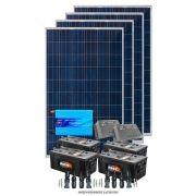 Kit solar 4000w/dia - Senoidal