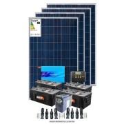 Kit solar 4800w/dia com bombeamento de água 1/2 cv