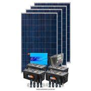 Kit solar 4800w/dia - Senoidal + Fixação Telha Colonial