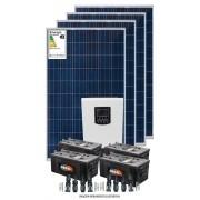 Kit solar 4800 w/dia - Inversor Carregador Senoidal 2000w/3000W 24v/220v - MPPT-L