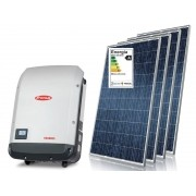 Kit Solar Grid Tie 3,2kwp - 430 kw/mês