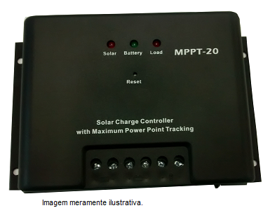 Controlador de carga MPPT 20A  - Kasatec Energia Solar