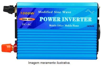 Inversor Onda Modificada 1000w  - Kasatec Energia Solar