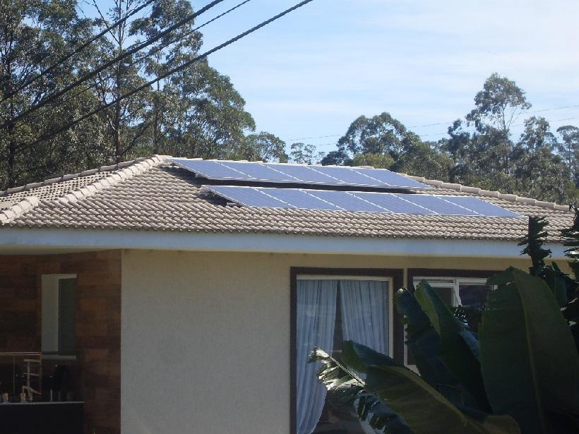 Kit Solar Grid Tie 5,1kwp - 688 kw/mês + backup baterias
