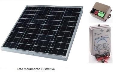 Kit solar cerca elétrica 3500m lineares  - Kasatec Energia Solar