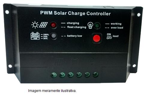 Controlador de Carga 20A  - Kasatec Energia Solar