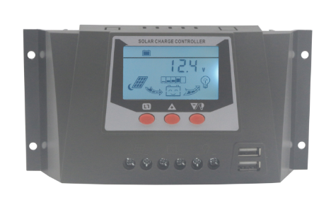 Controlador de Carga 30A - 12/24V  - Kasatec Energia Solar