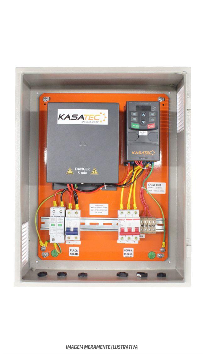 Kit bombeamento de água para motor de até 3/4cv  - Kasatec Energia Solar