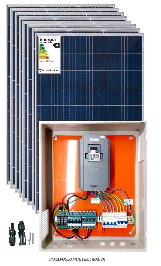 Kit bombeamento solar 10cv trifásico 380V