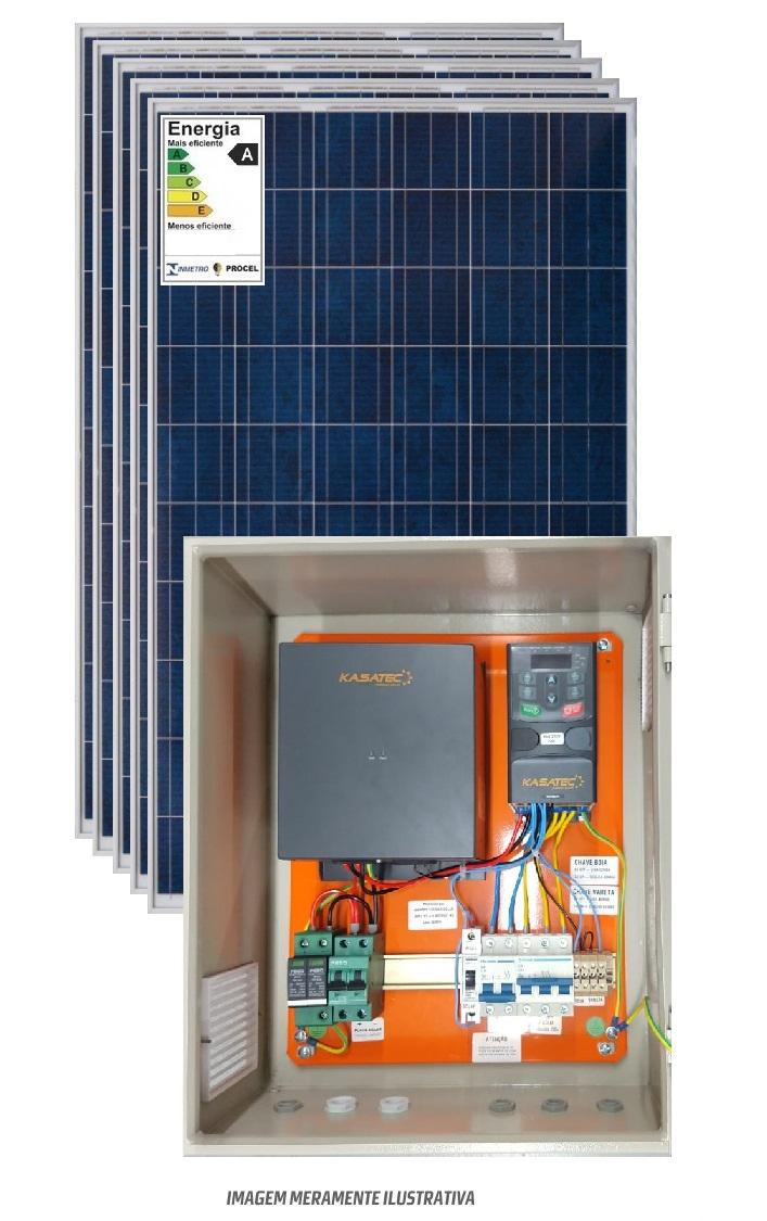 Kit bombeamento solar 3/4cv trifasico 220v - boost