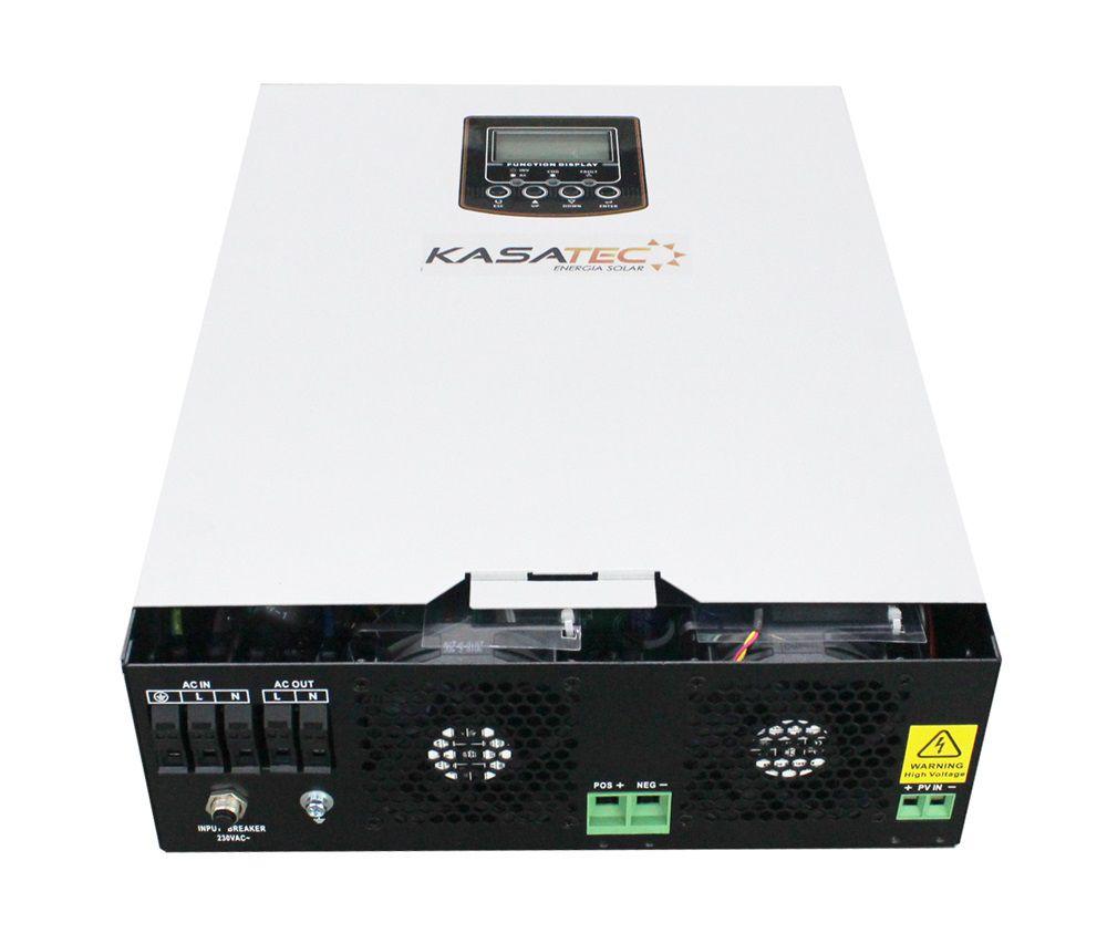 Kit solar 10.000w/dia - Inversor 3000W Senoidal 24V + Nobreak  - Kasatec Energia Solar