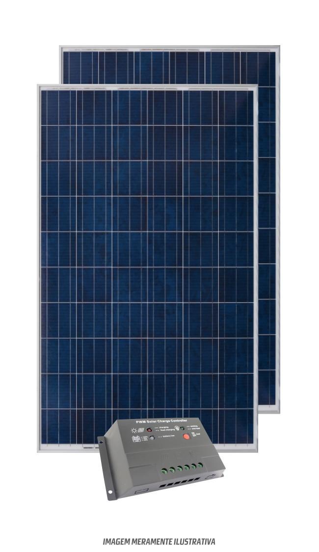 Kit Solar 2400w/dia - 24v