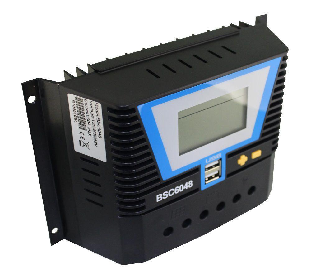 Kit Solar 345wp + 1 controlador 60A + 1 baterias 225A