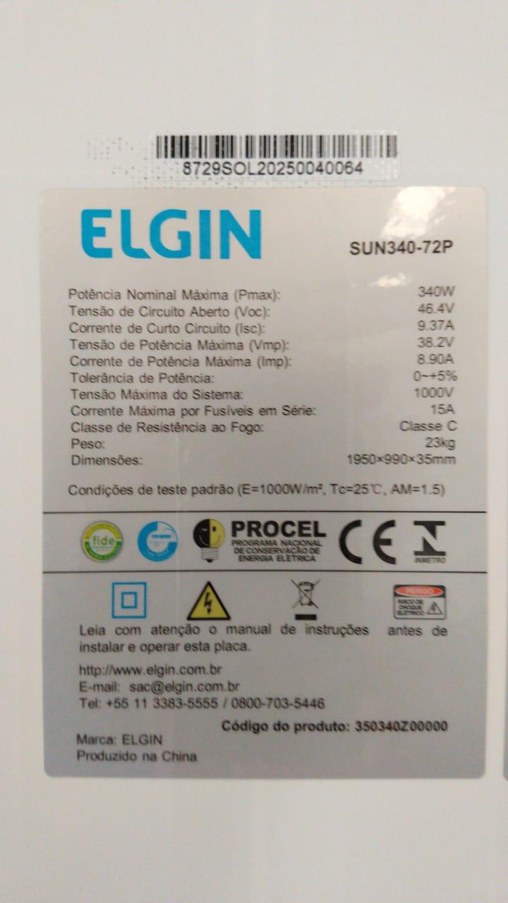 Kit solar 4800w/dia - Onda Modificada
